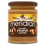 Meridian Peanut Butter 100% Nuts Smooth 280g